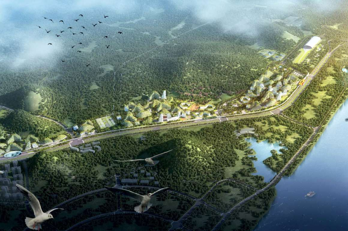 Urban forest cities by Stefano Boeri