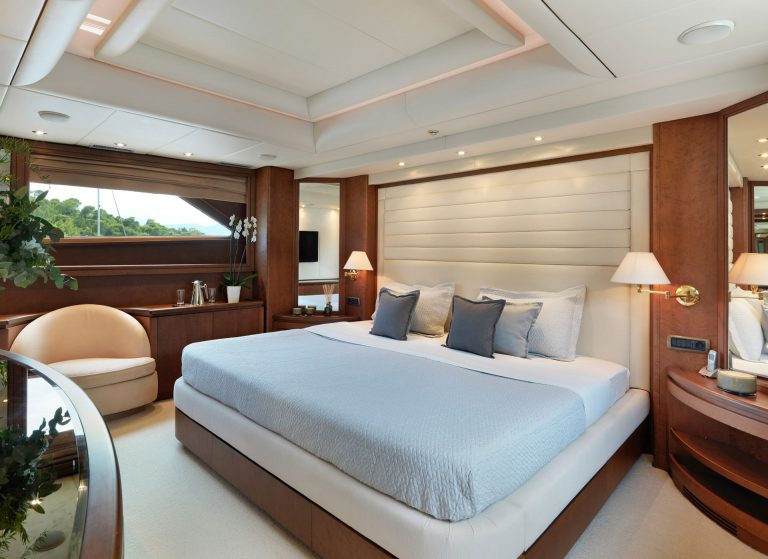 Situated on the Main Deck convenient access.