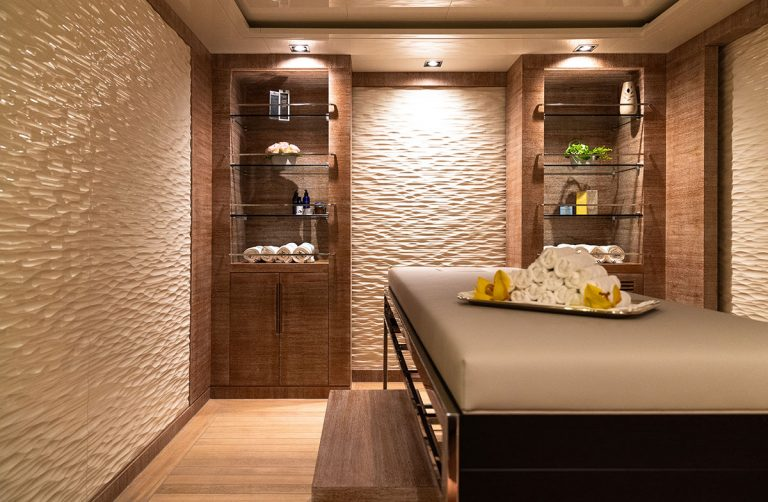 Massage Room and Steam Room.