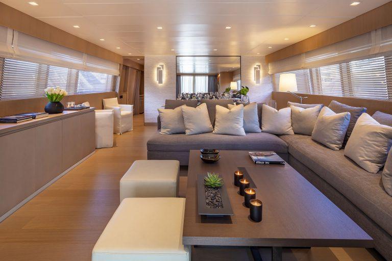 Stylish stunning interior.