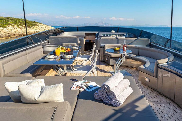 Spacious decks for dining & relaxation.