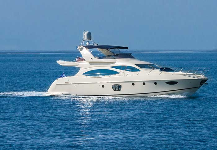 Azimut Fly 68 successful production model.