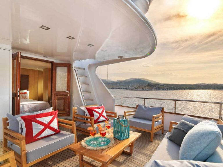 VIP with Own Terrace and privacy.