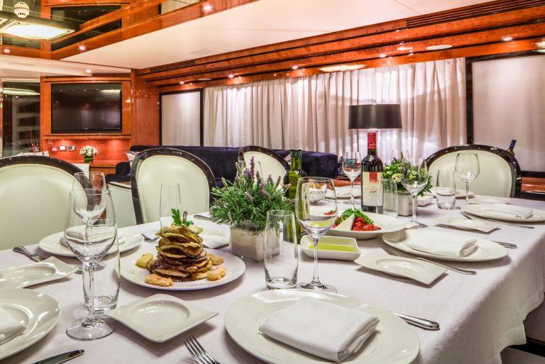 Cuisine by popular MILOS restaurant.