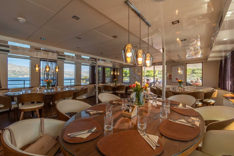 Fabulous meals and dining area.