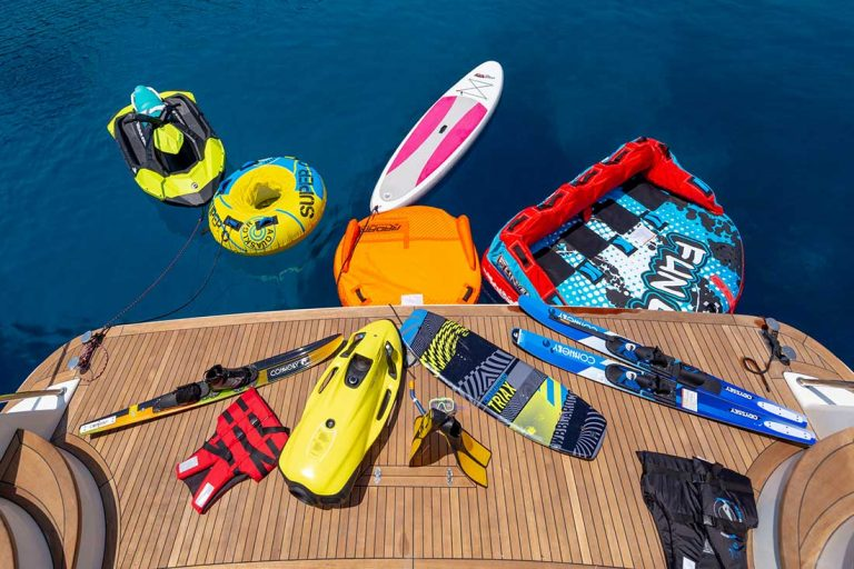 Splash fun with water leisure.